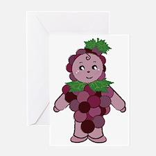 grape Greeting Card