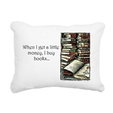2-books2 Rectangular Canvas Pillow