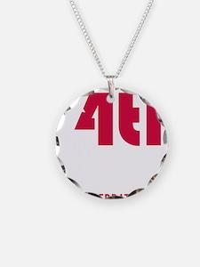 4thjulyshirtdarknodate Necklace