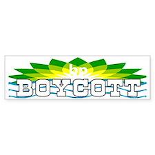 boycott bp bumper 2 drk shirt Bumper Sticker