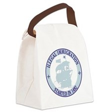 immigration1 Canvas Lunch Bag