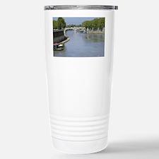 Tiber River In Rome Italy 14x10 Travel Mug