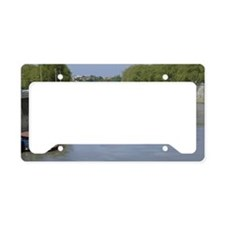 Tiber River In Rome Italy 14x License Plate Holder