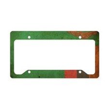 Vintage2Zambia License Plate Holder