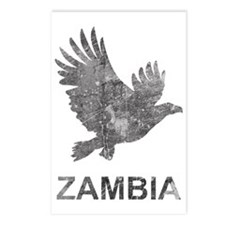 VintageZambia3 Postcards (Package of 8)