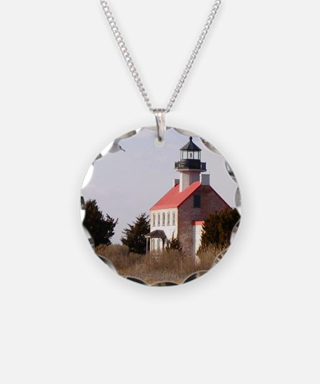 East Point  Light  House 14x Necklace