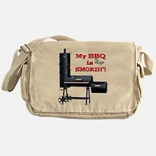 2-MyBBQisSmokin Messenger Bag