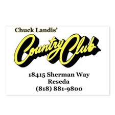 CountryClub Postcards (Package of 8)