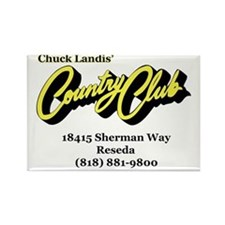 CountryClub Rectangle Magnet