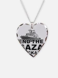 gaza-blockade-t-shirt Necklace