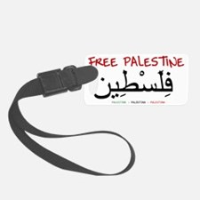 Free Palestine Luggage Tag