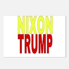 Nixon Trump Postcards (Package of 8)