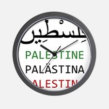 Support Palestine Wall Clock