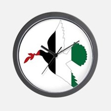 Peace in Palestine Wall Clock