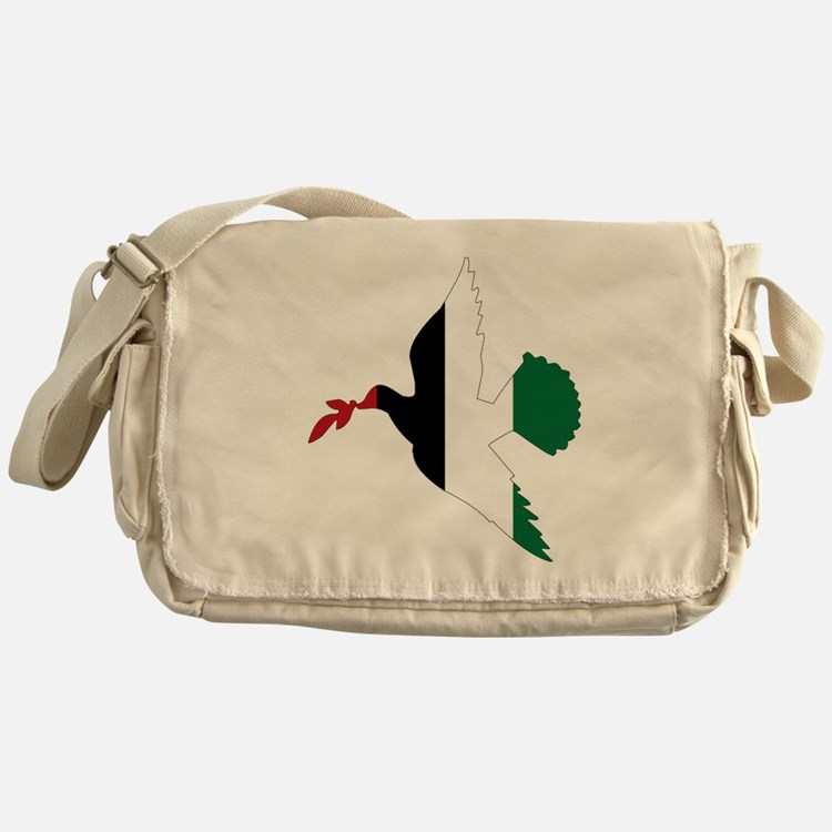 Peace in Palestine Messenger Bag