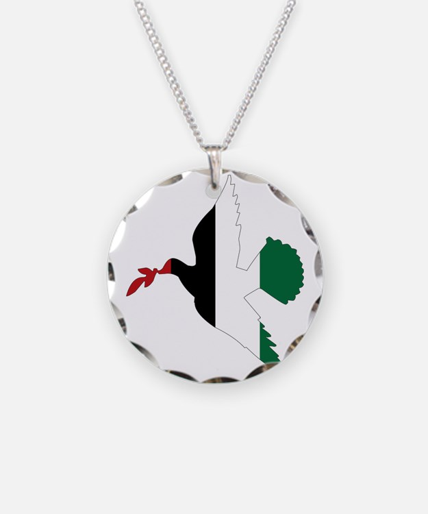 Peace in Palestine Necklace