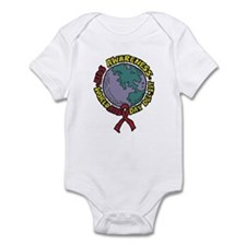 AIDS Awareness Dec 1st Infant Bodysuit