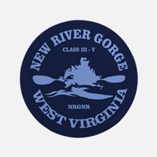"New River Gorge (kayak) 3.5"" Button"