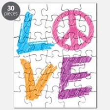love peace sign Puzzle