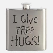 I Give Free Hugs Flask