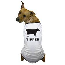 COW-Tipper Dog T-Shirt