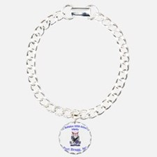 1st Bn 505th ABN Charm Bracelet, One Charm