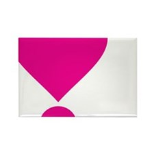 lovedarktshirtpink Rectangle Magnet
