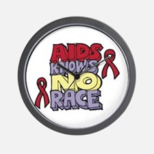 AIDS Knows No Race Wall Clock