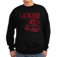 2-men play lacrosse red Sweatshirt