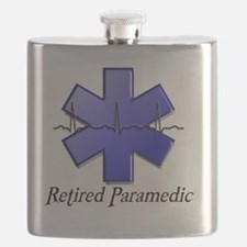 Retired Paramedic Flask