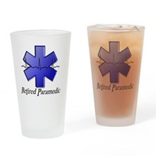 Retired Paramedic Drinking Glass