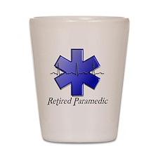 Retired Paramedic Shot Glass