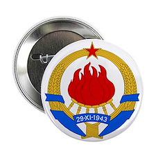 "SFR Yugoslavia Coat1 2.25"" Button"