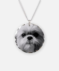 Heavenly Shih Tzu Necklace