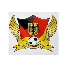 germany-soccer Throw Blanket