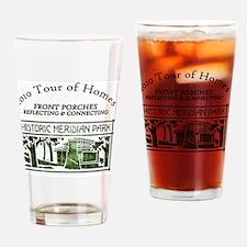 HMP home tour logo green Drinking Glass