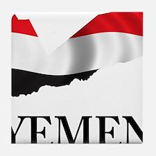 MapOfYemen1 Tile Coaster