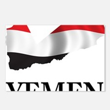 MapOfYemen1 Postcards (Package of 8)