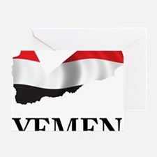 MapOfYemen1 Greeting Card