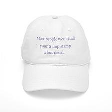 Tramp Stamp blue Baseball Cap