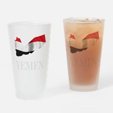 MapOfYemen1Bk Drinking Glass