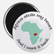 Stole my Heart Africa Magnet