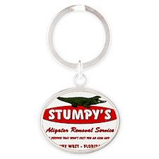 STUMPYS Oval Keychain