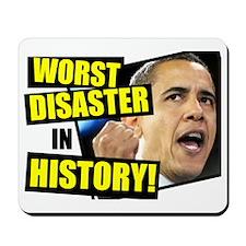 (2ALLIN)-Worst-President-Ever Mousepad
