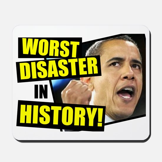 (2ALLIN)-Worst-President-Ever Mousepad