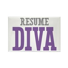 Resume DIVA Rectangle Magnet