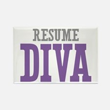 Resume DIVA Rectangle Magnet