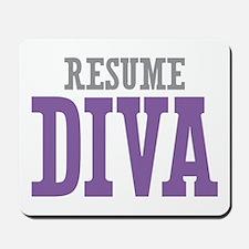 Resume DIVA Mousepad