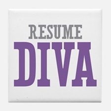 Resume DIVA Tile Coaster