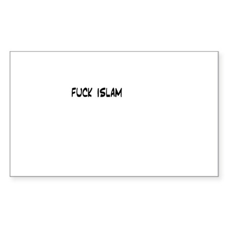 islamic superstore Rectangle Sticker